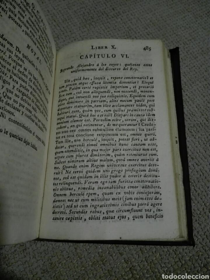 Libros antiguos: DE REBUS GESTIS ALEXANDRI MAGNI. ALEJANDRO MAGNO 1828, DE QUINTO CURCIO RUFO. - Foto 6 - 149265121