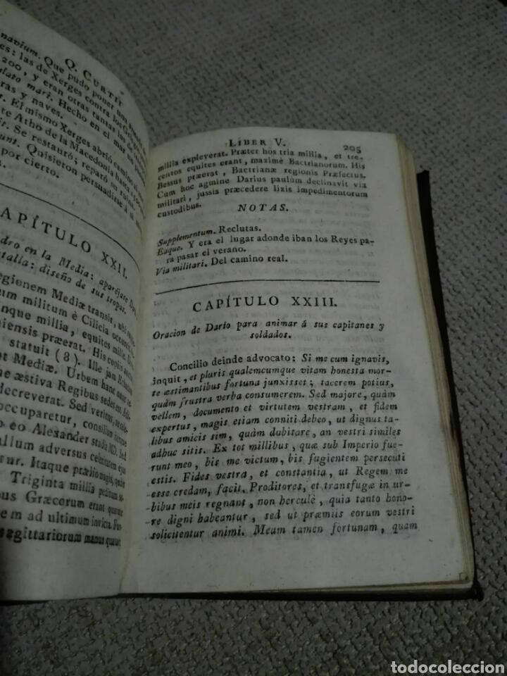 Libros antiguos: DE REBUS GESTIS ALEXANDRI MAGNI. ALEJANDRO MAGNO 1828, DE QUINTO CURCIO RUFO. - Foto 8 - 149265121