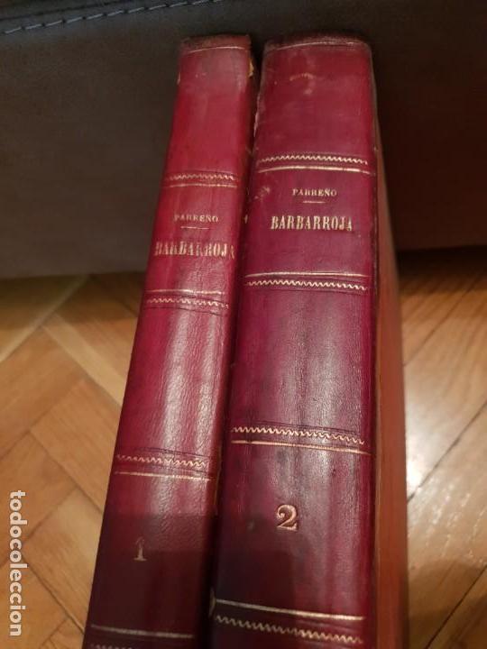 BARBARROJA HISTORIA DE LOS PIRATAS MÁS CÉLEBRES DEL MUNDO 2 TOMO (Libros antiguos (hasta 1936), raros y curiosos - Historia Antigua)