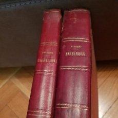 Libros antiguos: BARBARROJA HISTORIA DE LOS PIRATAS MÁS CÉLEBRES DEL MUNDO 2 TOMO. Lote 149591794