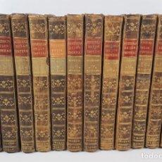 Alte Bücher - HISTORIA DE LOS EMPERADORES ROMANOS. 12 TOMOS. MR CREVIER. MADRID. 1795 / 1797. - 150059138