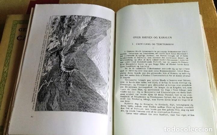 Libros antiguos: Georg Brandes, Cajus Julius Caesar, Noruega, 1921, 2 tomos. Julio César. En noruego - Foto 3 - 150135466