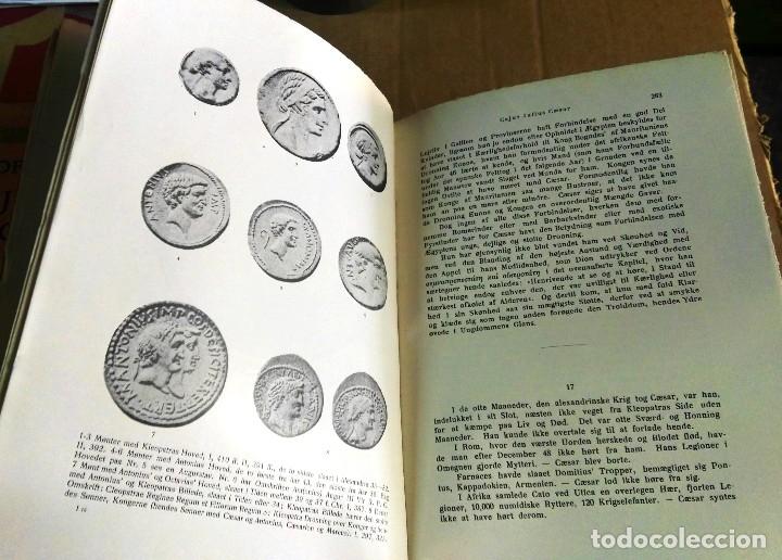 Libros antiguos: Georg Brandes, Cajus Julius Caesar, Noruega, 1921, 2 tomos. Julio César. En noruego - Foto 6 - 150135466