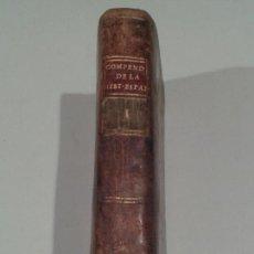 Alte Bücher - Compendio de la historia de España. Duchesne. Barcelona. 1789. - 150286490