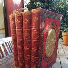 Libros antiguos: LOS GRANDES REVOLUCIONARIOS. LA REVOLUCION A TRAVES DE LOS SIGLOS. 4 TOMOS. CARLOS MENDOZA. 1889. Lote 150644790