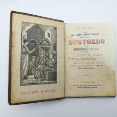 Libros antiguos: HISTORIA DE BERTOLDO 1878 CON LAMINAS LEER DESCRIPCIÓN. Lote 150998177