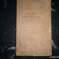 Libros antiguos: GALICIA EN EL ULTIMO TERCIO DEL SIGLO XV ANTONIO LOPEZ FERREIRO 1897 LA CORUÑA TOMO 2. Lote 151035446