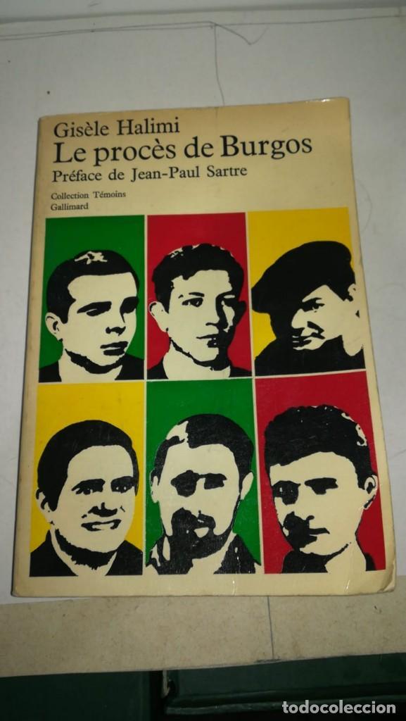 LE PROCES DE BURGOS (Libros antiguos (hasta 1936), raros y curiosos - Historia Antigua)