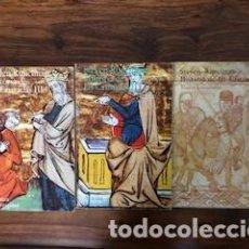 Libros antiguos: HISTORIA DE LAS CRUZADAS. 3 VOLÚMENES. Lote 152783730