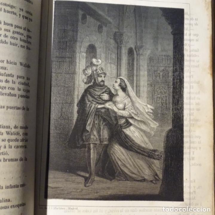 Libros antiguos: La Alhambra.leyendas arabes los acazares de España 1856.manuel fernandez gonzalez. - Foto 2 - 153604466