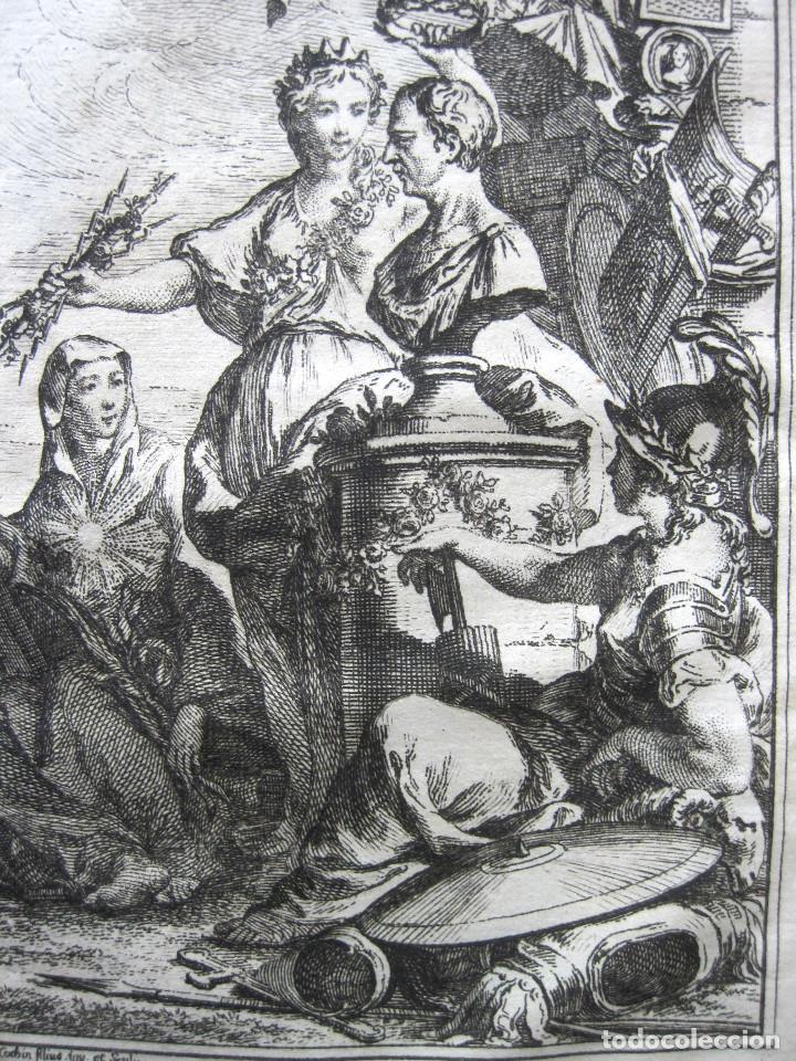Libros antiguos: Año 1749 Historia de Cicerón Rara segunda edición parisina Frontispicio grabado Antigua Roma - Foto 2 - 153632570