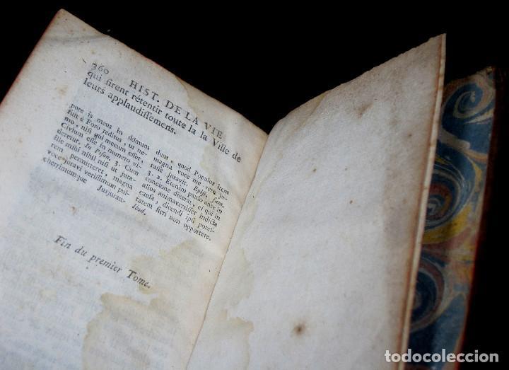 Libros antiguos: Año 1749 Historia de Cicerón Rara segunda edición parisina Frontispicio grabado Antigua Roma - Foto 8 - 153632570