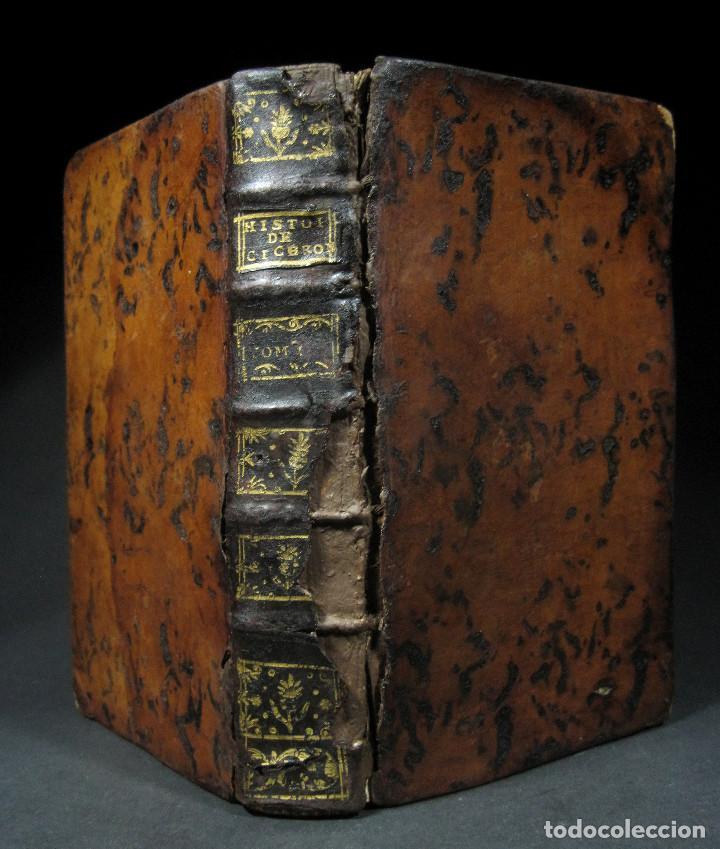 Libros antiguos: Año 1749 Historia de Cicerón Rara segunda edición parisina Frontispicio grabado Antigua Roma - Foto 11 - 153632570
