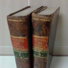 Libros antiguos: HISTORIA DE ESPAÑA DUCHESNE AÑO 1789 OBRA COMPLETA ILUSTRADA CON UN MAPA. Lote 153726706