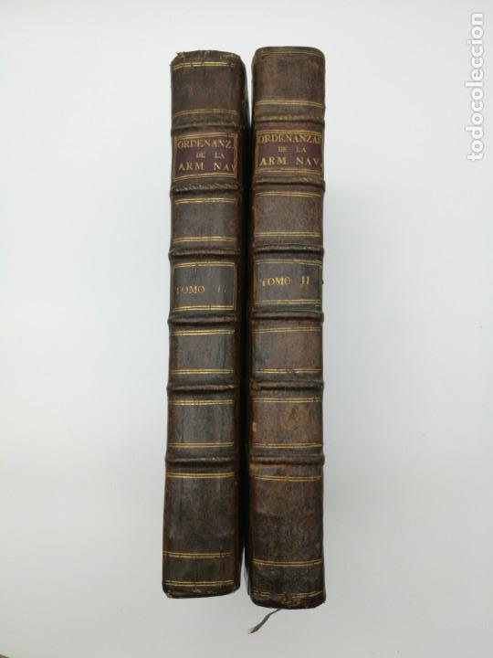 ORDENANZAS GENERALES DE LA ARMADA NAVAL 1793 (Libros antiguos (hasta 1936), raros y curiosos - Historia Antigua)
