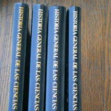 Libros antiguos: HISTORIA GENERALES DE LAS CIENCIAS¡¡4 LIBROS¡¡. Lote 153849638