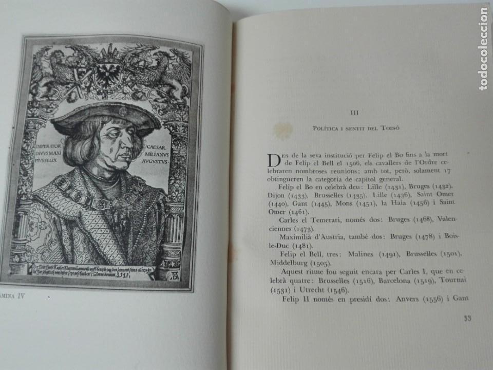 Alte Bücher: El toison de oro en Barcelona Joan Ainaud de Lasarte edicion limitada y numerada - Foto 8 - 153999546