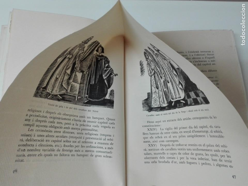 Alte Bücher: El toison de oro en Barcelona Joan Ainaud de Lasarte edicion limitada y numerada - Foto 9 - 153999546