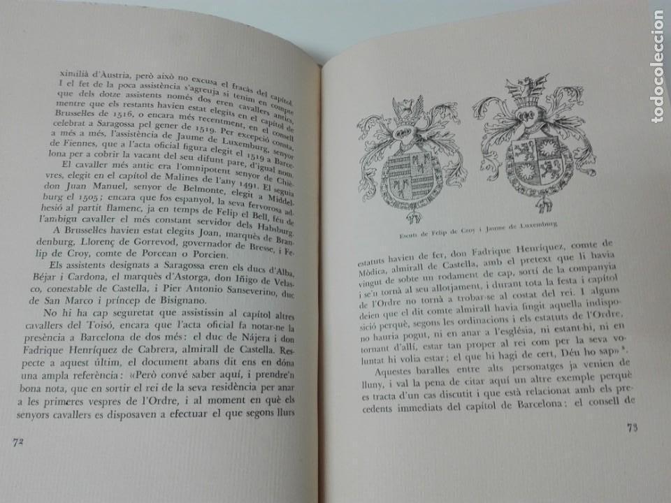 Alte Bücher: El toison de oro en Barcelona Joan Ainaud de Lasarte edicion limitada y numerada - Foto 11 - 153999546