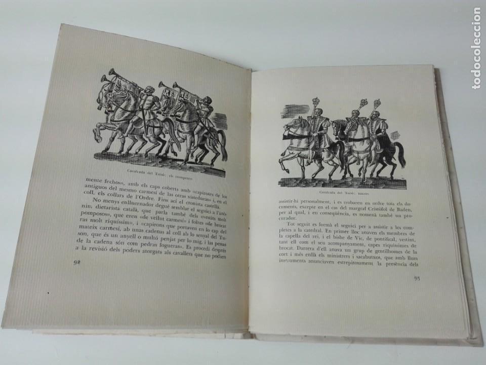 Alte Bücher: El toison de oro en Barcelona Joan Ainaud de Lasarte edicion limitada y numerada - Foto 12 - 153999546