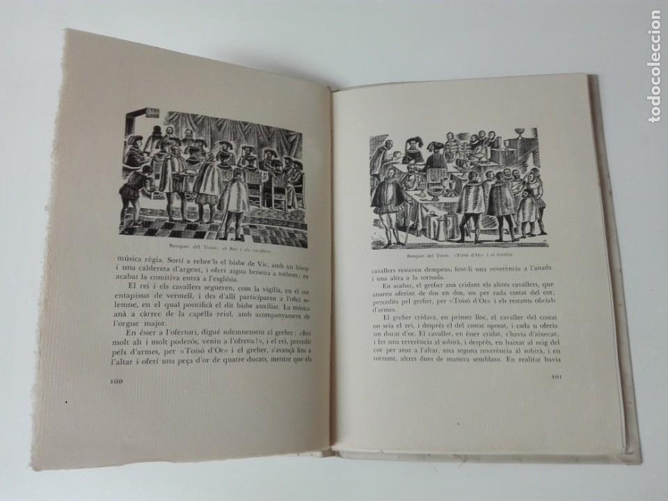 Alte Bücher: El toison de oro en Barcelona Joan Ainaud de Lasarte edicion limitada y numerada - Foto 13 - 153999546