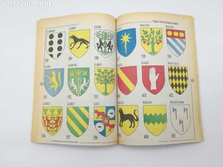 Libros antiguos: Origen escuts cognoms catalans Heràldica Encuadernado - Foto 2 - 153950810