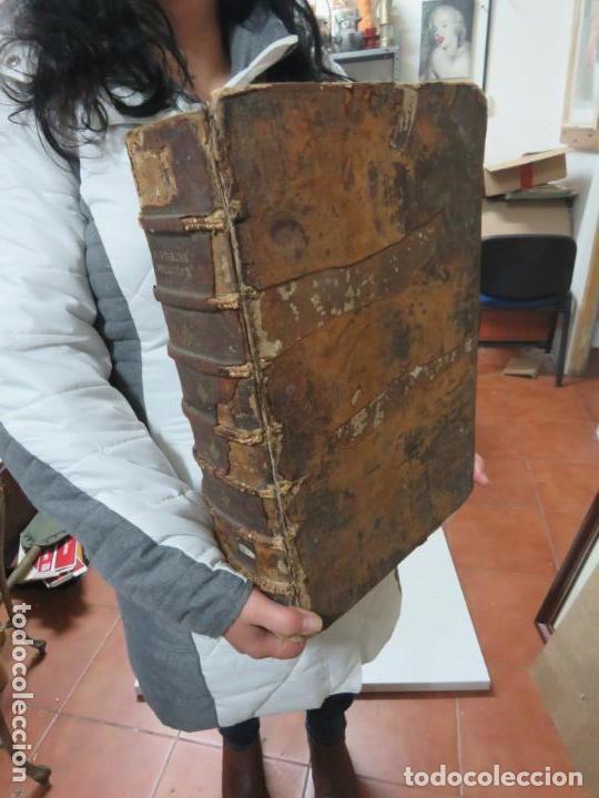GIGANTE LIBRO : PLUTARCO - CHAERONENSIS OMNIUM QUAE EXTUM OPERUM, EN LATIN, AÑO 1624, 43X30 CMS (Libros antiguos (hasta 1936), raros y curiosos - Historia Antigua)