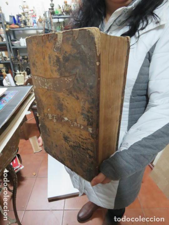 Libros antiguos: GIGANTE LIBRO : PLUTARCO - CHAERONENSIS OMNIUM QUAE EXTUM OPERUM, EN LATIN, AÑO 1624, 43X30 CMS - Foto 6 - 154114218