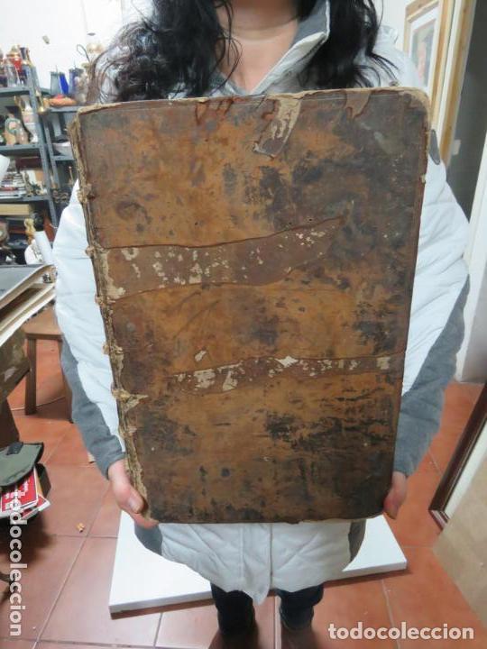Libros antiguos: GIGANTE LIBRO : PLUTARCO - CHAERONENSIS OMNIUM QUAE EXTUM OPERUM, EN LATIN, AÑO 1624, 43X30 CMS - Foto 8 - 154114218