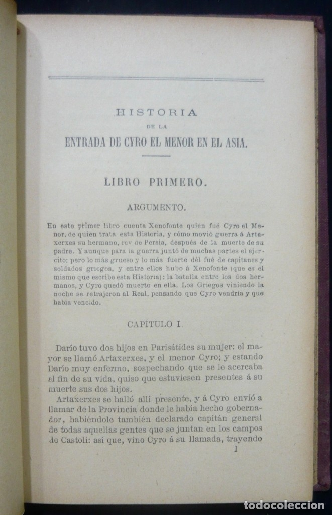 Alte Bücher: 1914 - La Anábasis de Jenofonte. Retirada de los Diez Mil - Grecia, Guerras Médicas, Persia, Ciro - Foto 8 - 154330910