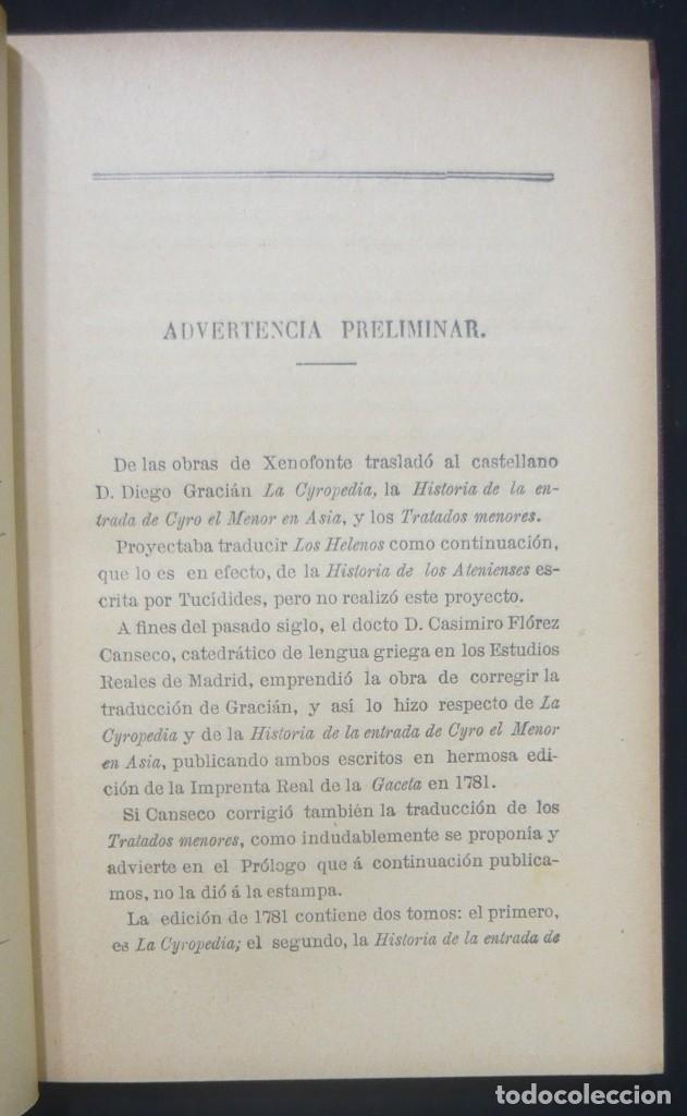 Alte Bücher: 1914 - La Anábasis de Jenofonte. Retirada de los Diez Mil - Grecia, Guerras Médicas, Persia, Ciro - Foto 6 - 154330910