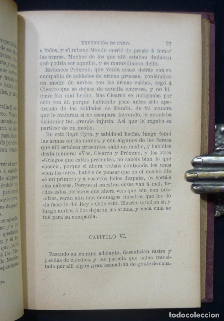 Alte Bücher: 1914 - La Anábasis de Jenofonte. Retirada de los Diez Mil - Grecia, Guerras Médicas, Persia, Ciro - Foto 9 - 154330910