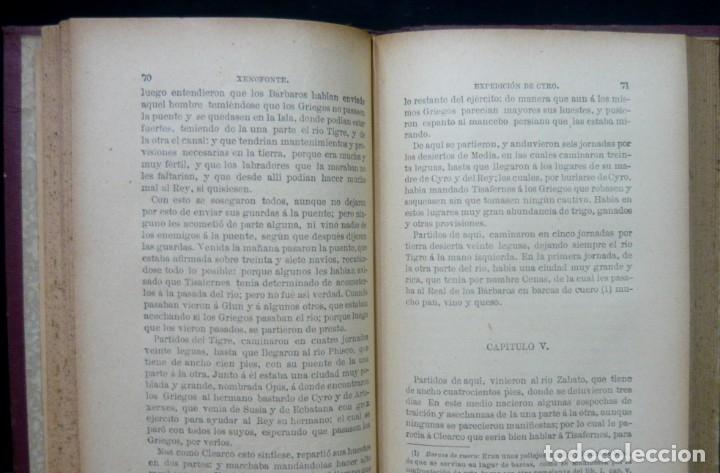 Alte Bücher: 1914 - La Anábasis de Jenofonte. Retirada de los Diez Mil - Grecia, Guerras Médicas, Persia, Ciro - Foto 11 - 154330910