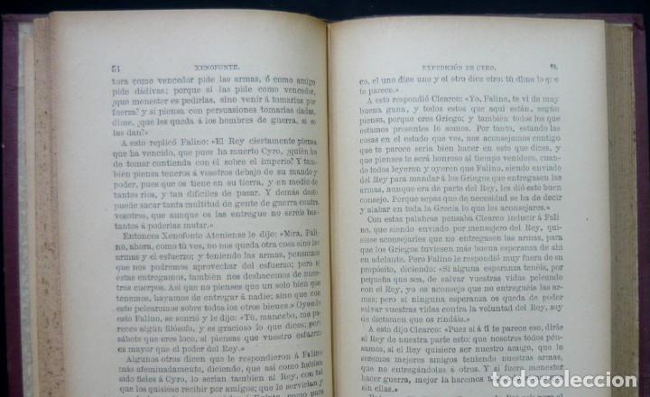 Alte Bücher: 1914 - La Anábasis de Jenofonte. Retirada de los Diez Mil - Grecia, Guerras Médicas, Persia, Ciro - Foto 10 - 154330910