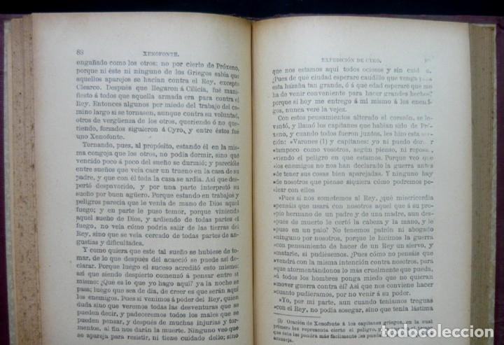 Alte Bücher: 1914 - La Anábasis de Jenofonte. Retirada de los Diez Mil - Grecia, Guerras Médicas, Persia, Ciro - Foto 12 - 154330910