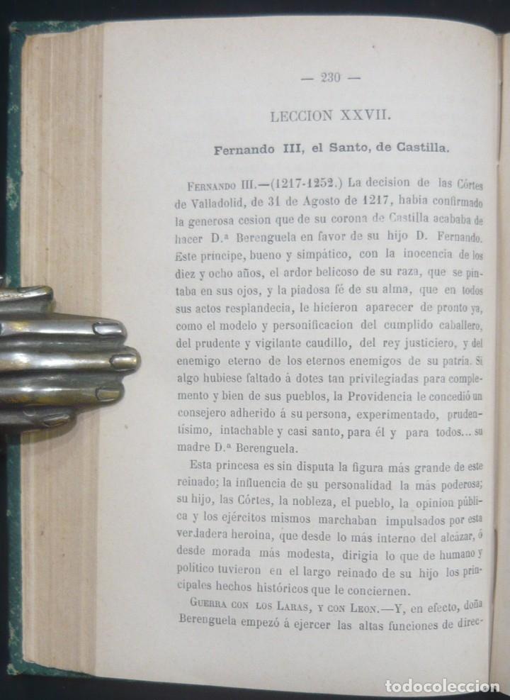 Alte Bücher: 1878 - Historia de España - Hispania Romana, Visigoda, Al-Andalus, Reconquista, Edad Moderna - Foto 9 - 154332726