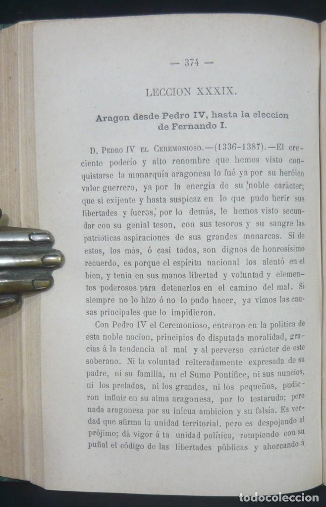 Alte Bücher: 1878 - Historia de España - Hispania Romana, Visigoda, Al-Andalus, Reconquista, Edad Moderna - Foto 10 - 154332726