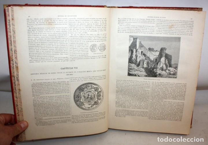 Libros antiguos: HISTORIA DE LOS ROMANOS-1888-VICTOR DURUY-MONTANER Y SIMON. - Foto 6 - 154458362