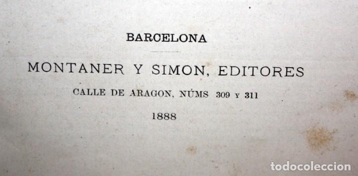 Libros antiguos: HISTORIA DE LOS ROMANOS-1888-VICTOR DURUY-MONTANER Y SIMON. - Foto 8 - 154458362