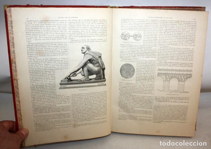 Libros antiguos: HISTORIA DE LOS ROMANOS-1888-VICTOR DURUY-MONTANER Y SIMON. - Foto 9 - 154458362
