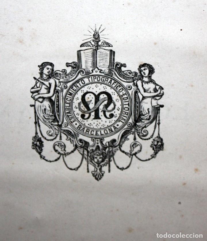 Libros antiguos: HISTORIA DE LOS ROMANOS-1888-VICTOR DURUY-MONTANER Y SIMON. - Foto 10 - 154458362