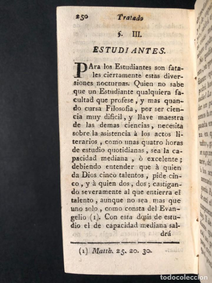Libros antiguos: 1782 Tratado sobre las tertulias - castidad - murmuracion - juego - lujo - Foto 8 - 154741542