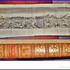 Libros antiguos: AÑO 1742. HISTORIA UNIVERSAL. GRAN TOMO DE 26 CM. CON DESPLEGABLES. SIGLO XVIII. VER FOTOS.. Lote 154785522