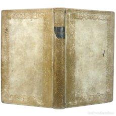 Libros antiguos: 1755 - SALUSTIO: CONJURACIÓN DE CATILINA, GUERRA DE JUGURTA - HISTORIA DE ROMA - PERGAMINO, S. XVIII. Lote 154900310