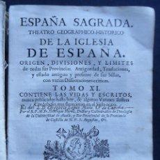Libros antiguos: CORDOBA.'ESPAÑA SAGRADA' TOMO XI. 1ª EDICION 1753. HENRIQUE FLOREZ. VARONES CORDOBESES. Lote 154933478