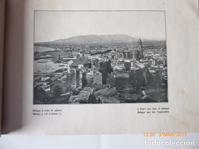Libros antiguos: libro malaga, 1909, artistica e industrial. - Foto 3 - 154971666
