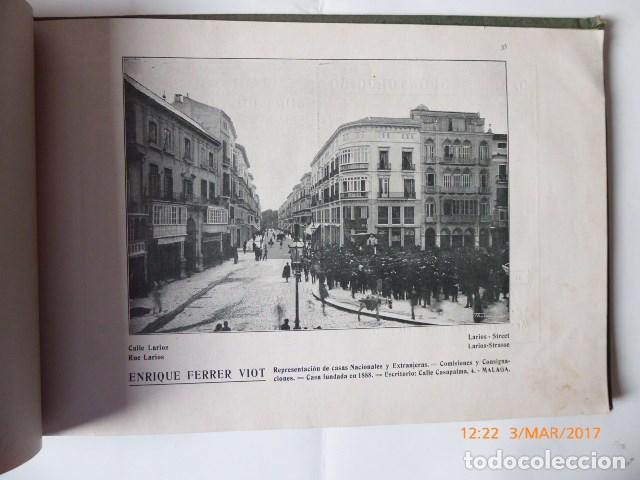 Libros antiguos: libro malaga, 1909, artistica e industrial. - Foto 9 - 154971666
