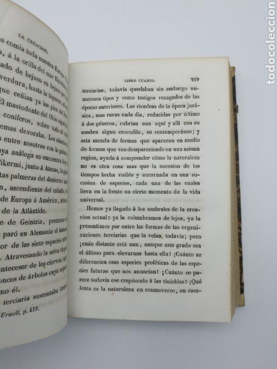 Libros antiguos: La creación de E Quintet 1871 en dos partes - Foto 4 - 155067914