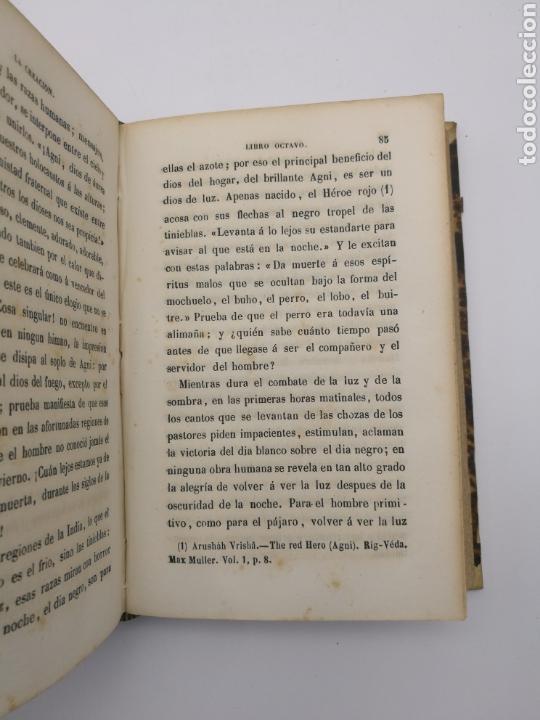 Libros antiguos: La creación de E Quintet 1871 en dos partes - Foto 5 - 155067914