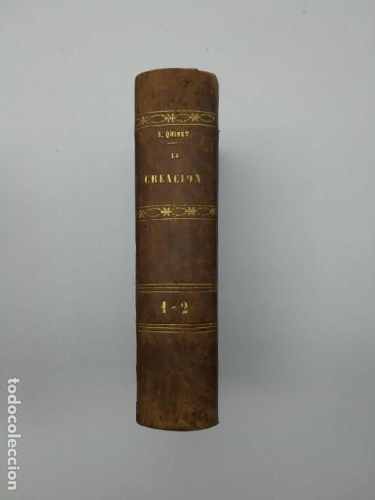 LA CREACIÓN DE E QUINTET 1871 EN DOS PARTES (Libros antiguos (hasta 1936), raros y curiosos - Historia Antigua)